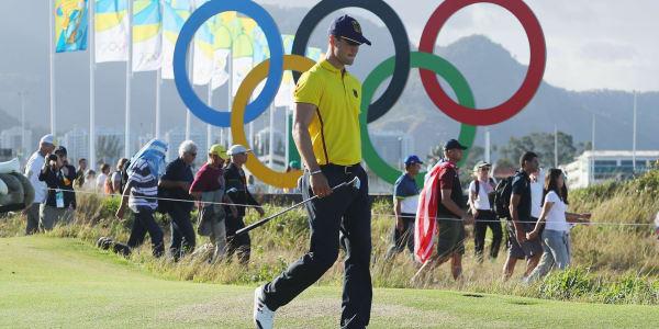 Martin Kaymer bei den Olympischen Spielen 2016 in Rio. Der deutsche Teilnehmer erreichte einen 15. Platz. (Foto: Getty)