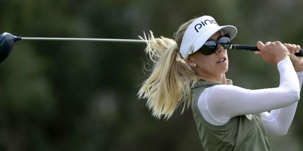 Pernilla Lindberg gewinnt ihren ersten LPGA Tour Titel bei der ANAInspiration 2018. (Foto: Getty)