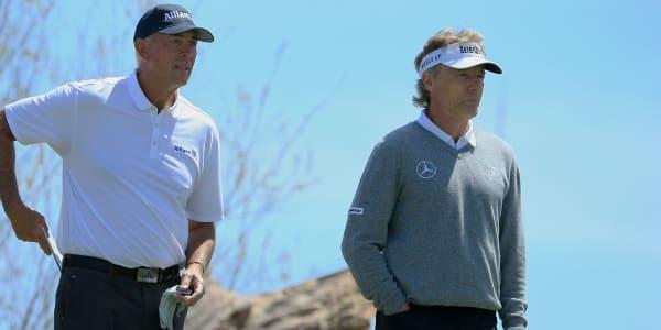 PGA Tour Champions Legends of Golf 2018 Bernhard Langer Tom Lehman