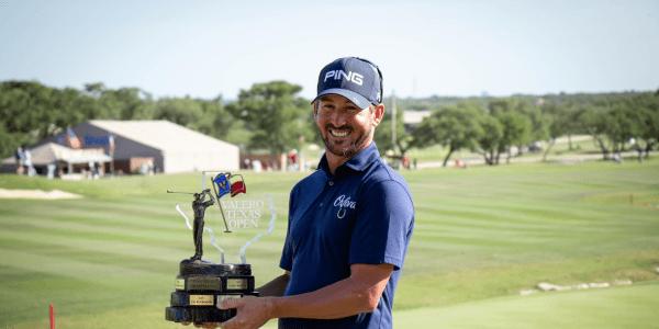 Sein erster Sieg nach 32 Starts auf der PGA Tour: Andrew Landry. (Foto: Twitter/@PGATOUR)