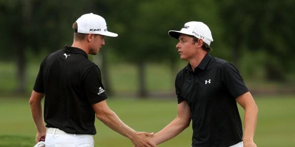 Das Siegerteam des letzten Jahres bei der Zurich Classic auf der PGA Tour: Jonas Blixt und Cameron Smith. (Foto: Getty)