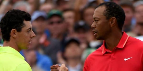 Rory McIlroy ist bei den Buchmachern Favorit auf den Masters Sieg, Tiger Woods an Platz 3. (Foto: Getty)