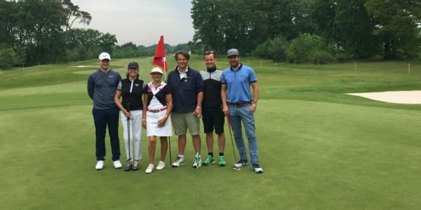 Der Golf Post Flight beim ProAm des Belgian Knockout. (Foto: Golf Post)