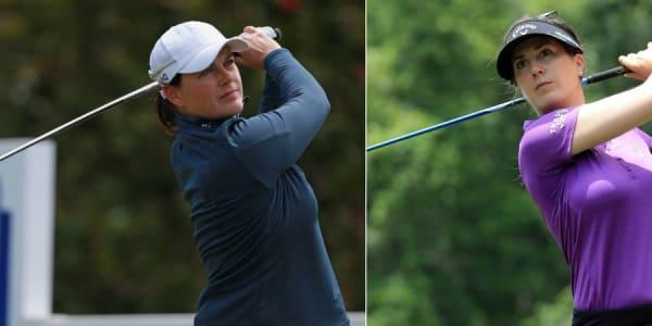 Caroline Masson und Sandra Gal überzeugen auf der LPGA Tour mit guten Leistungen. (Foto: Getty)