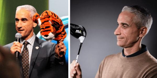 Golf Post traf den TaylorMade CEO David Abeles zum ausführlichen Interview in Frankfurt. (Foto: Twitter/ @TaylorMade ( @GolfMonthly)