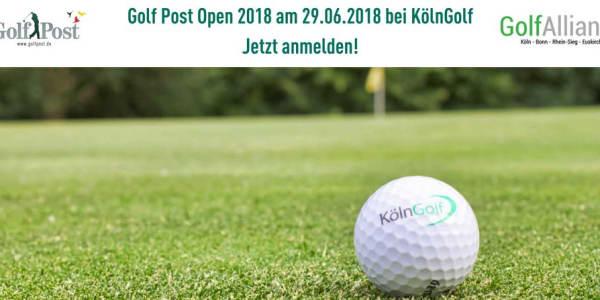 Melden Sie sich jetzt schnell zur Golf Post Open 2018 bei KölnGolf am 29.06.2018 ab 15:00 Uhr an. (Foto: GolfAlliance)