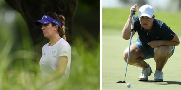 Sandra Gal und Caroline Masson sind verhalten in die Women's PGA Championship gestartet. (Foto: Getty)
