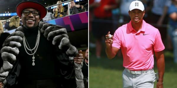 Floyd Mayweather landet auf Rang 1 der Forbes Geldrangliste. Tiger Woods belegt Platz 16. (Foto: Getty)