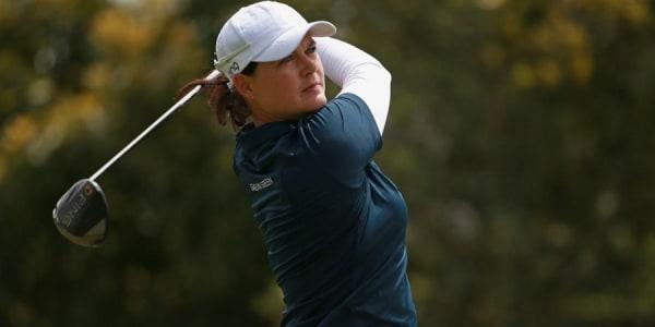 Caro Masson verweilt weiterhin im Mittelfeld der US Women's Open auf der LPGA Tour. (Foto: Getty)