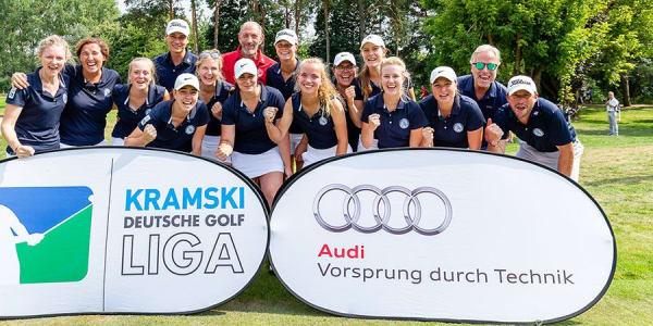 Die Falkensteiner Damen stehen bereits vor dem 5. Spieltag als Teilnehmer des Final Four fest. (Foto: DGV/ Tiess)