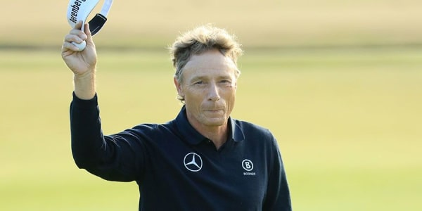 Bernhard Langer übersteht den Cut der British Open 2018. (Foto: Getty)