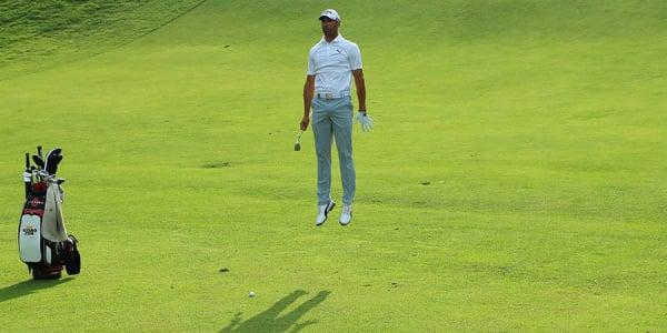 Fliegen lernt man auch auf dem Golfplatz nicht, doch mit der Gesundheit geht's auf jeden Fall nach oben. (Foto: Getty)