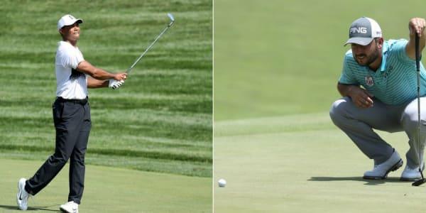 Tiger Woods und Stephan Jäger kämpfen auf der PGA Tour in Potomac, um gute Platzierungen. (Foto: Getty)
