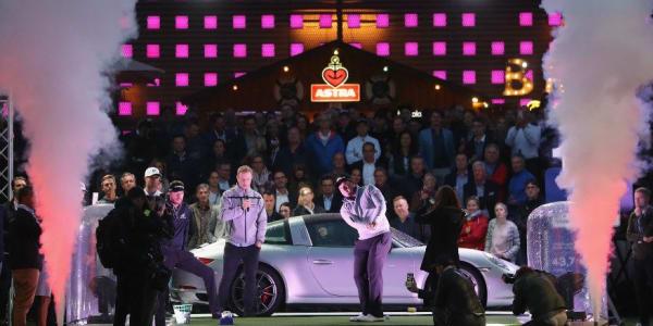 Schon im vergangenen Jahr wurde die Reeperbahn von Porsche zum