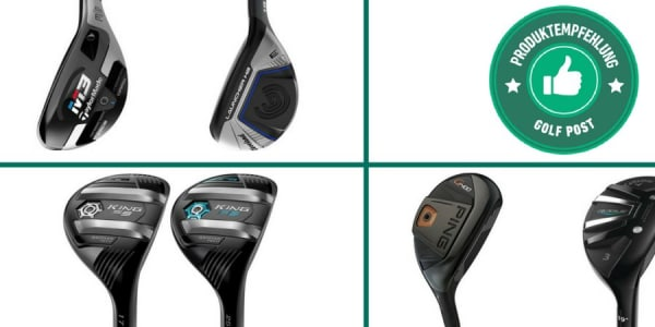 Hybrid Empfehlungen (Foto: Cleveland / TaylorMade / Callaway / Cobra Golf / PING)