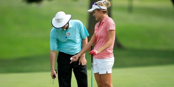 Lexi Thompson kommt aus der Regelfalle einfach nicht raus in dieser Saison. (Foto: Getty)