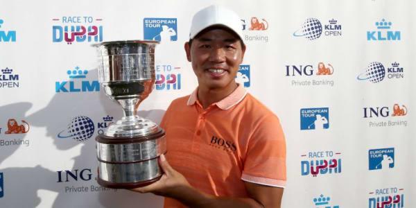Ashun Wu gewinnt auf der European Tour. (Foto: Getty)