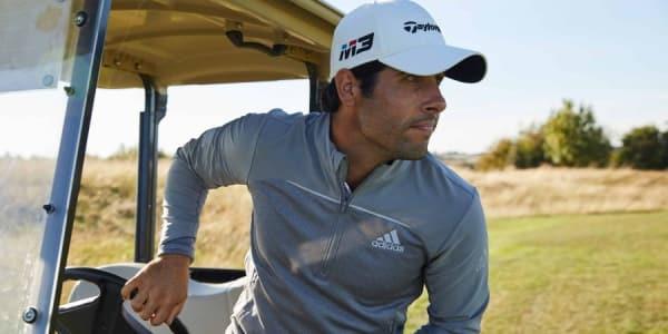 Die Adidas Go-To Adapt Golf-Jacke ist das neue Zugpferd des Sportwagenherstellers und ein echter Allrounder. (Foto: Adidas)
