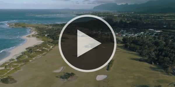 Adventures in Golf besuht einen der schönsten öffentlichen Golfplätze der Welt in Kahuku. (Foto: Youtube.com/@Skratch)