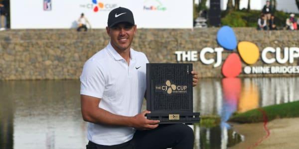 Brooks Koepka triumphiert beim CJ Cup 2018 der PGA Tour. (Foto: Getty)