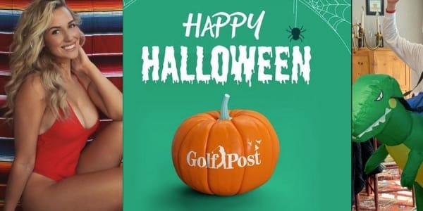 Ob Paige Spiranac oder Justin Thomas, viele Stars der Golfwelt verkleideten sich anlässlich Halloween mit ihren Familien, Freunden und teilweise sogar mit ihren Haustieren zusammen. (Foto: @_paige.renee, @justinthomas34 / Instagram)