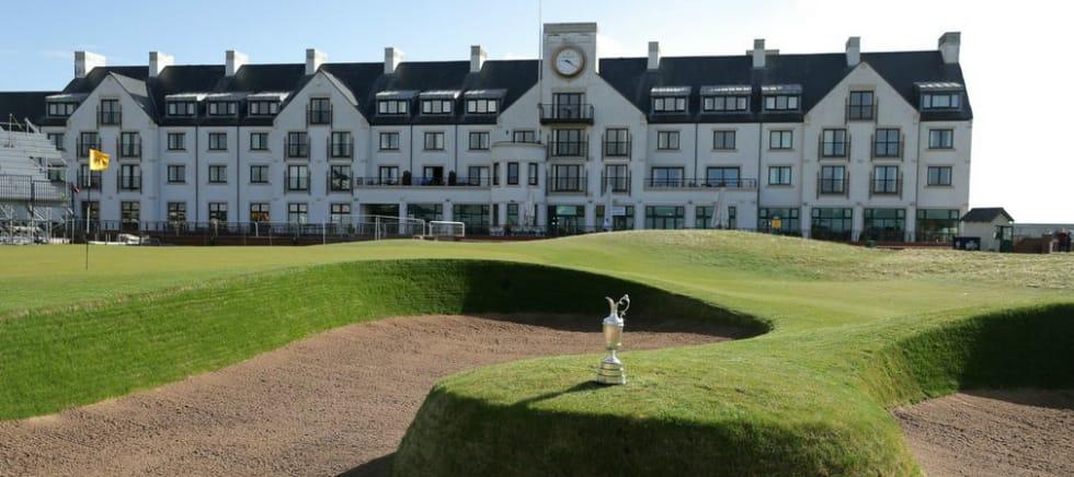 Die 147. Open Championship findet im Jahr 2018 auf dem Championship Course der Carnoustie Golf Links statt. Ein harter Kurs für alle teilnehmenden Spieler. (Foto: Getty)