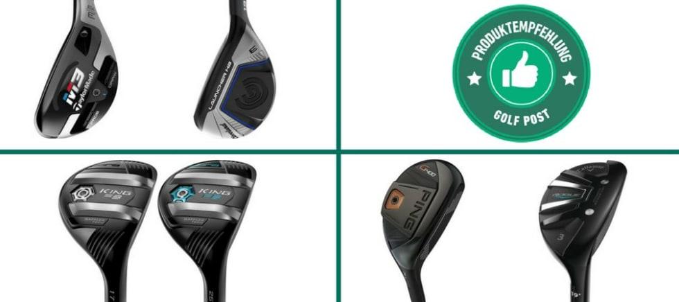 Hybrid Empfehlungen (Foto: Cleveland / TaylorMade / Callaway / Cobra Golf / PING)