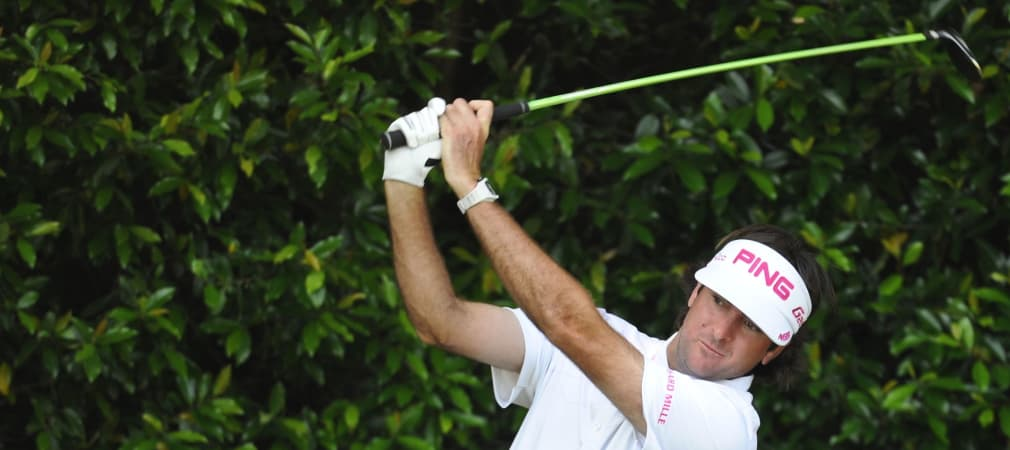 Bubba Watson beim Masters 2012