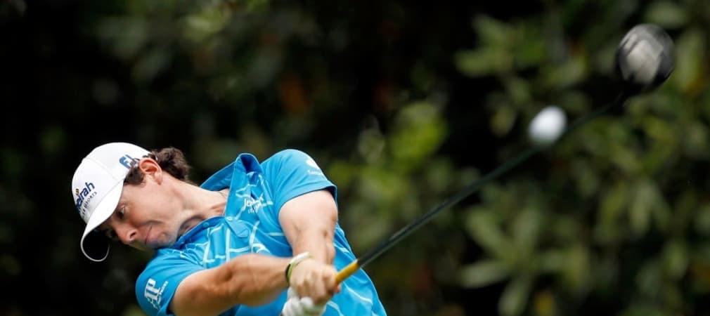 Rory McIlroy spielt erneut eine 66er Runde bei den British Open. (Foto: Getty)