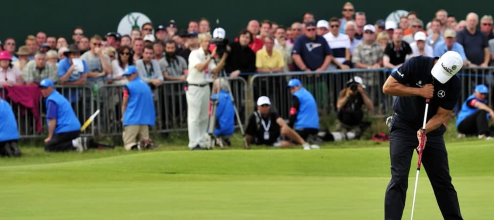 Adam Scott bei der Open 2012