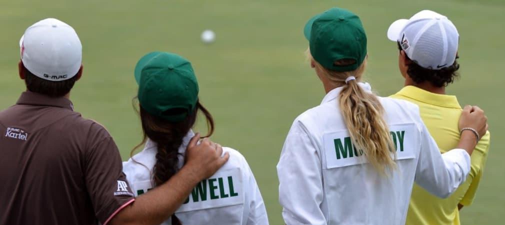 McIlroy Wozniacki McDowell Masters