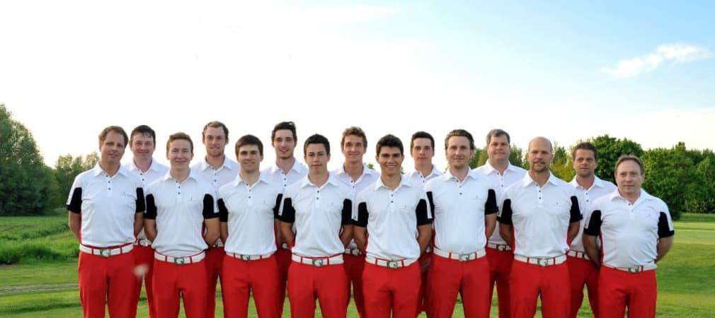 Die 1. Herrenmannschaft des Golfclub St. Leon-Rot