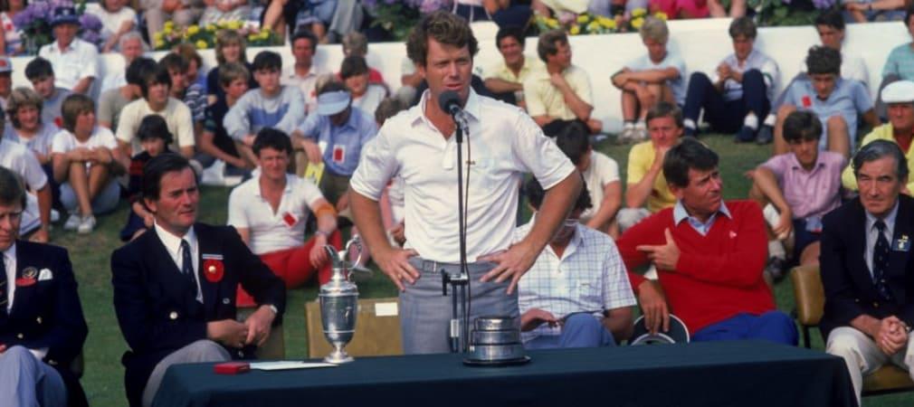 Tom Watson British Open 1983. (Foto: Getty)