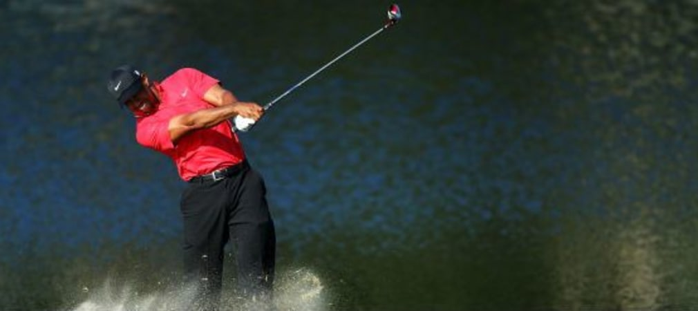 Woods bei der Players Championship
