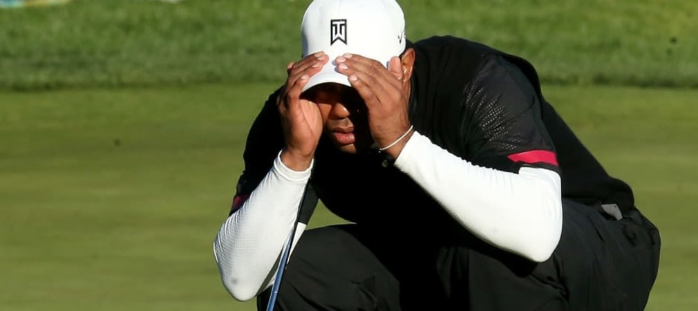 Alles Verstecken hilft nichts. Auch für Tiger Woods geht die Saison bei der Farmers Insurance Open wieder los