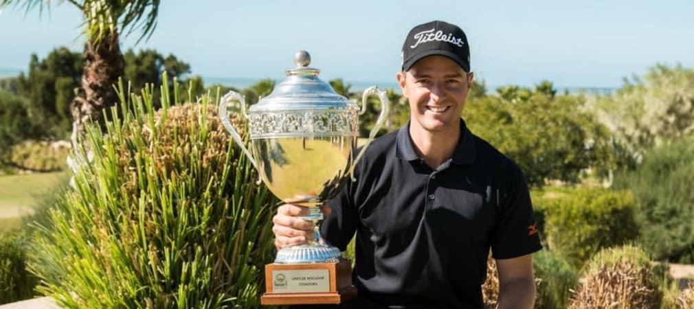 Marcel Schneider sicherte sich bei der Open Mogador den ersten Sieg auf der Pro Golf Tour