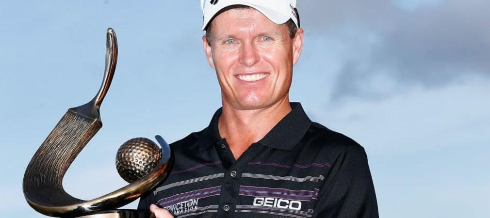 Der Australier John Senden setzte sich in Florida durch und holte den Titel der Valspar Championship