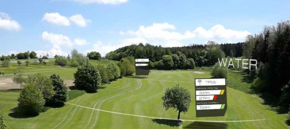 Vigolf visualisiert Golfplätze und macht sich dem Golfer sichtbar, bevor dieser dort gespielt hat