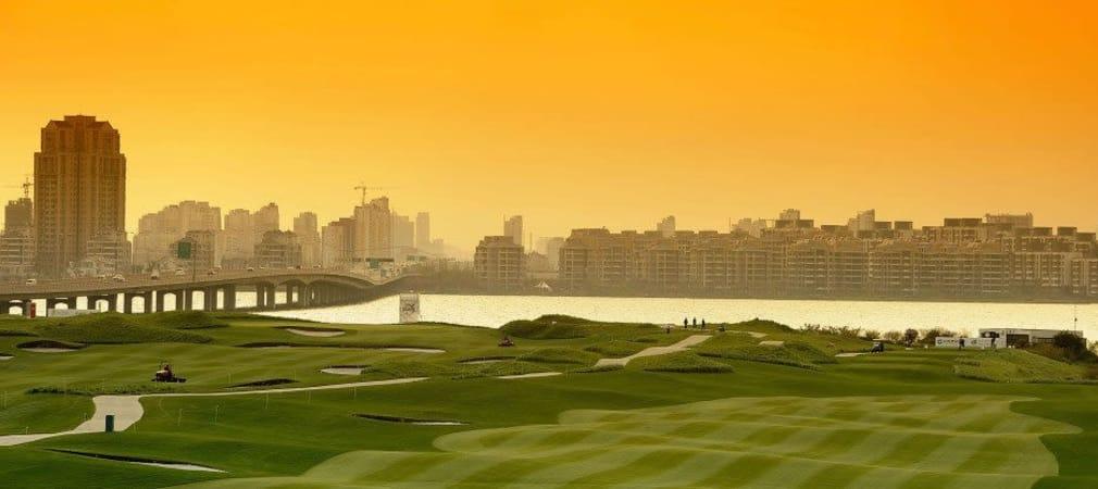 Mit Farbfilter über der Linse hat der Smog in China fast was Romantisches. In Shenzhen bei der Volvo China Open werden Maximilian Kieffer und Marcel Siem jedoch voraussichtlich ohne Atemmaske antreten. (Foto: Getty)