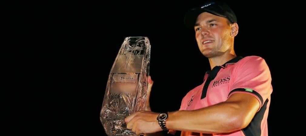Martin Kaymer mit dem Pokal der PLAYERS Championship 2014.