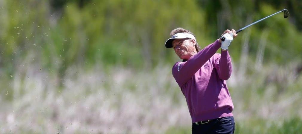 Bernhard Langer bei der Senior PGA Championship 2014