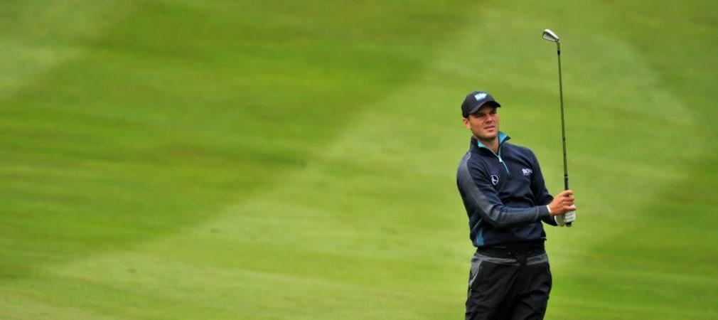 Golf kann so frustrierend sein - nach starken Auftaktrunden können Martin Kaymer und Marcel Siem den Anschluss nicht halten. (Foto: Getty)