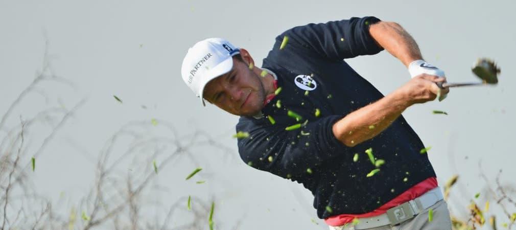 Es ging hart zu für Maximilian Kieffer rund um die Cut-Linie am zweiten Tag der BMW PGA Championship in Wentworth. (Foto: Getty)