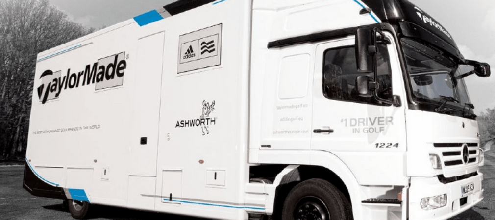 Der TaylorMade Tour Truck kommt nach Düsseldorf. (Foto: TaylorMade)