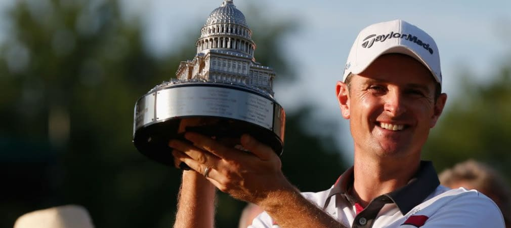 Justin Rose sicherte sich den Turniersieg bei der Quicken Loans National (Foto: Getty).