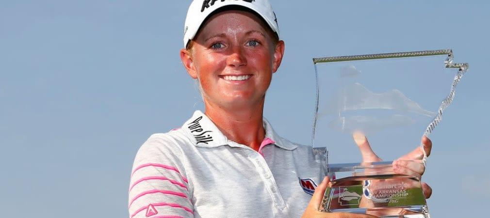 Sie hatte allen Grund zum Lachen: Stacy Lewis gewinnt die Walmart NW Arkansas Championship (Foto: Getty).