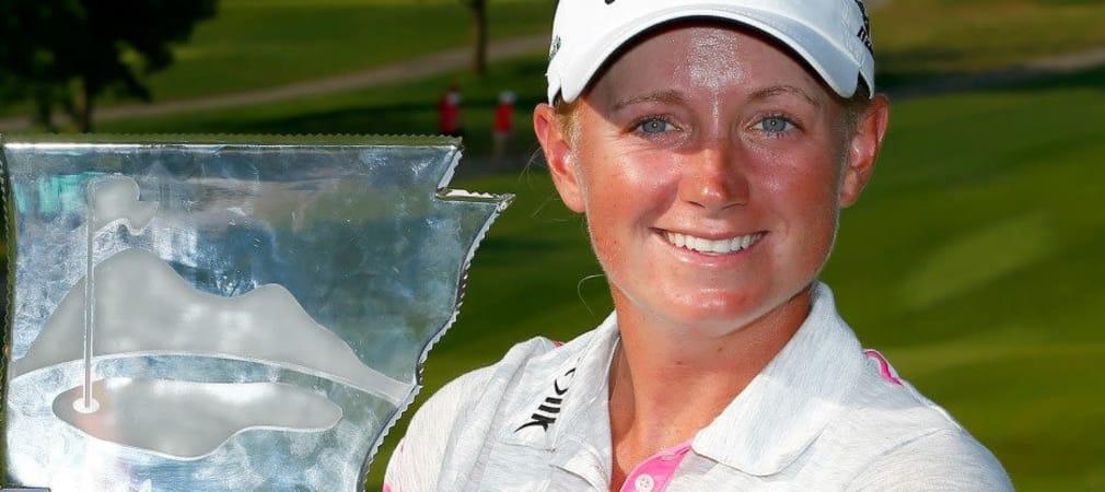 Stacy Lewis sicherte sich in Arkansas ihren dritten Titel der Saison.