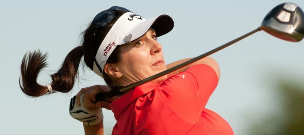 Sandra Gal bereitet sich mit Carolin Masson bei der Walmart NW Arkansas Championship auf die British Women´s Open vor. (Foto: Getty)