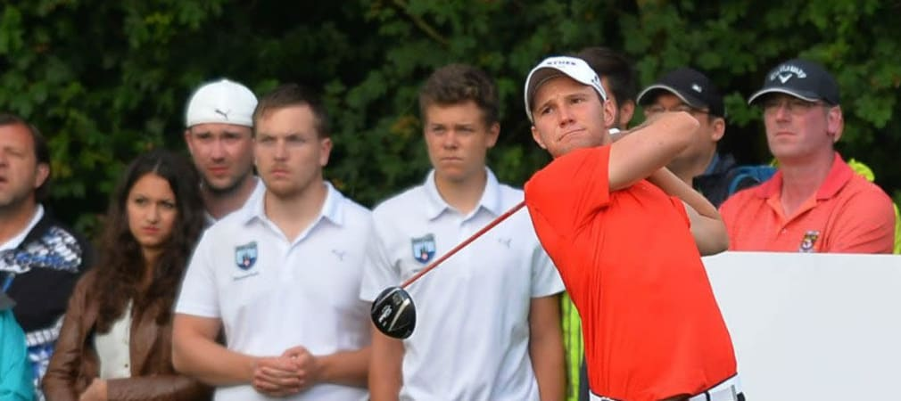 Max Kieffer bei der Scottish Open 2014