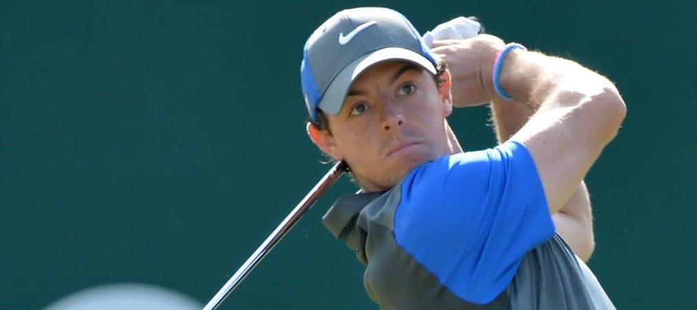 Der Nordire Rory McIlroy dominiert den zweiten Tag der British Open. (Foto: Getty)